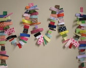 Scrappy Ribbon Garland