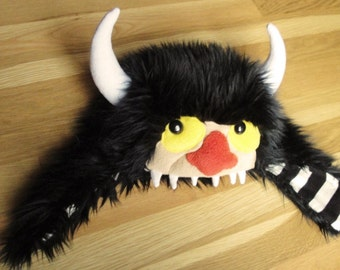 READY TO SHIP - Moishe Hungry Hat (Where the Wild Things Are Inspired) - Child Size