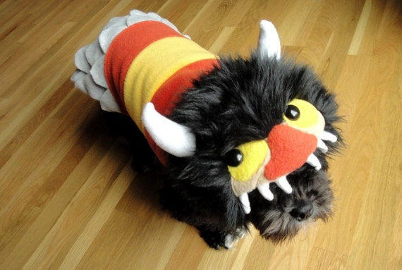 RESERVED FOR  KKTheKrazyKat - Where the Wild Things Are Inspired Dogeater Coat