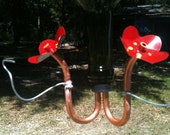 3 Hummingbird Feeder Heads (Make Your Own Feeders) Free Shipping