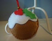 Christmas Pudding Holiday Ornament Decoration