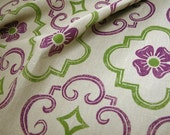 Cloisters hand printed linen by the yard