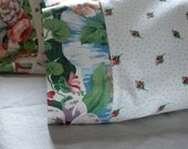 Ready to Ship - English Garden Roses Cottage Chic Home Decor standard pillow cases set of 2