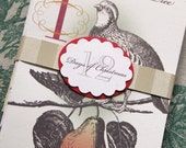 12 Days of Christmas set of 12 cards and envelopes