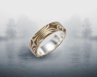Mokume Gane Rings Perfect for A wedding Band