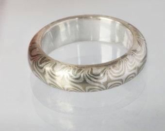 Soaring Star Mokume gane ring
