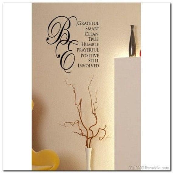 Hinckley Bes - Vinyl Wall Lettering Words Decor