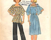 Misses Dress or Tunic Top and Pants Pattern Simplicity 7841