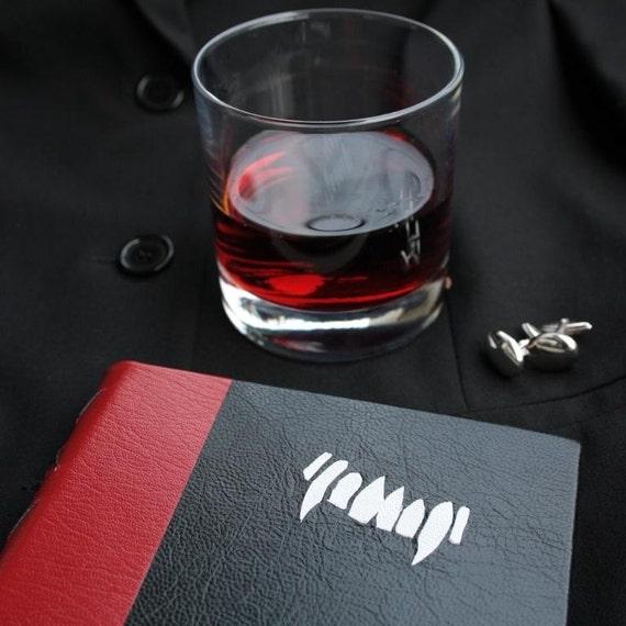 Vampire Fangs - Blank Journal