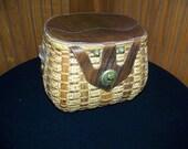 Vintage Ronay basket purse