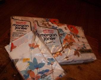 Vintage Morgan Jones twin sheet set Deadstock