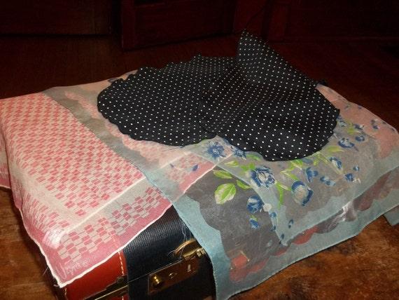 Three vintage scarfs One Vera