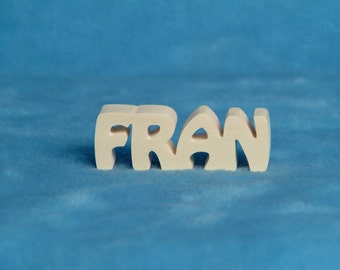 Personalized Wood Name