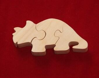 Lg. Triceratops Puzzle