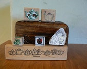 Rubber Stamps - Teapot themed collection