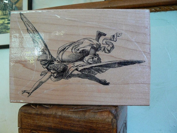 Rubber Stamp - large angle stamp