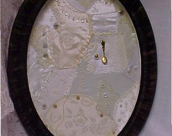 Embroidered Anniversary, Wedding, Memorbilia, or Bridal Shower Gift