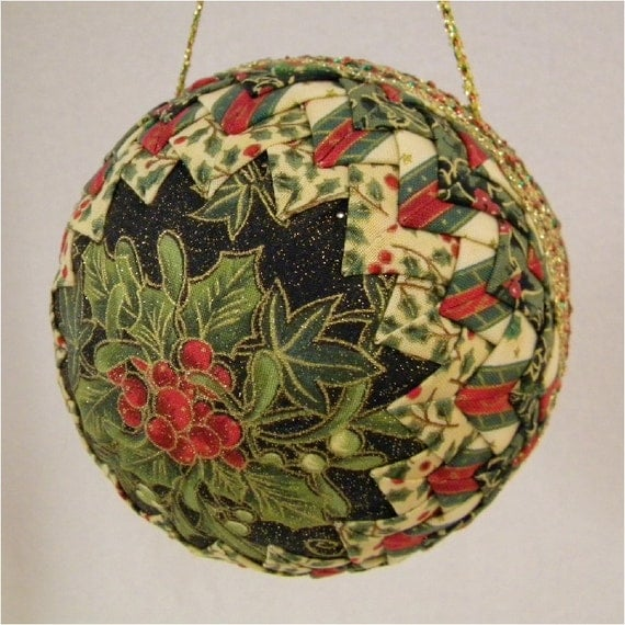 Most Elegant Quilted Victorian Christmas Ornament