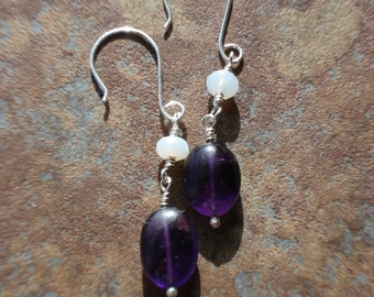 Amethyst and Chalcedony