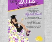 Cocktail Graduation Party Invites (Set of 12)