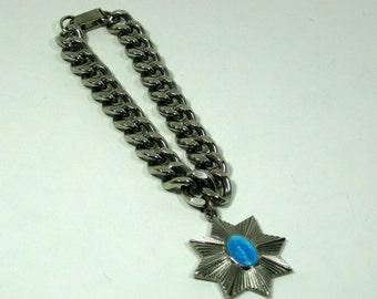Spiritual Virgin Mary Pendant Bracelet Blue Catholic Prayer Pendant
