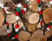 Christmas Garland (with dark green)