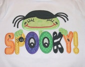 Spooky Little Cuties Applique Designs 5x7 and 6x10 INSTANT DOWNLOAD