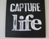 Canvas Word Series - Capture Life