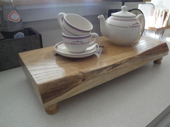 SALE - Reclaimed Wood Pedestal Platform