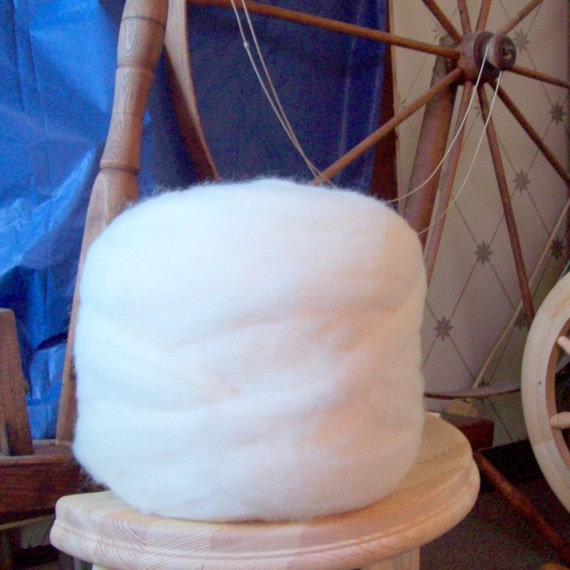 Reserved for Melissa - Natural Coopworth Wool Top Roving by the pound - bulk for spinning, felting or dyeing - spin - felt - dye