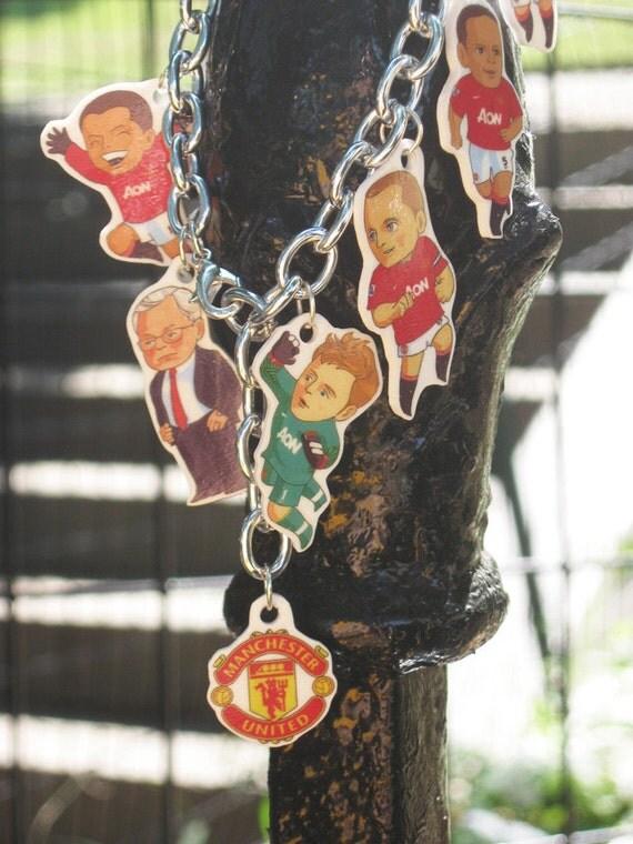Manchester United Charm  Bracelet