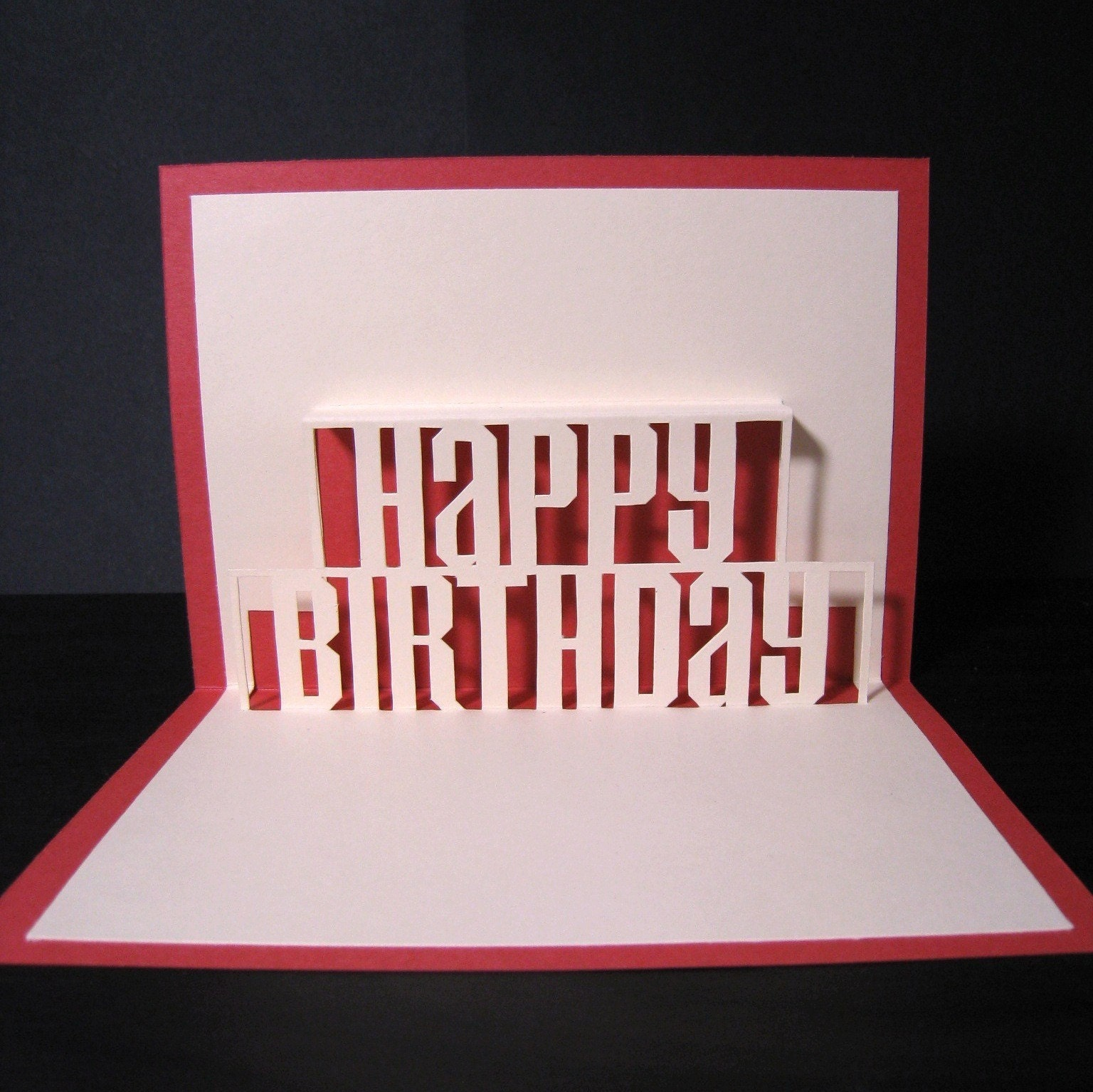 Pop Up Happy Birthday Card Template – Happy Birthday Pop Up Cards