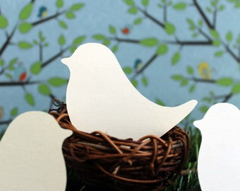 Love Bird Place Cards Set of 50 Wedding