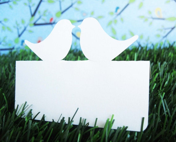 Wedding Place Cards Love Birds Set of 150