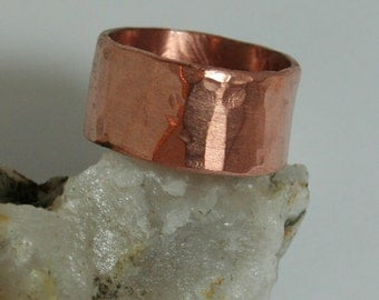 Heavy Copper Ring - Unisex - made to order