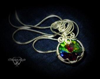 Rainbowdrop Crystal Pendant