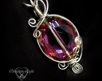 Spring Crystal Pendant