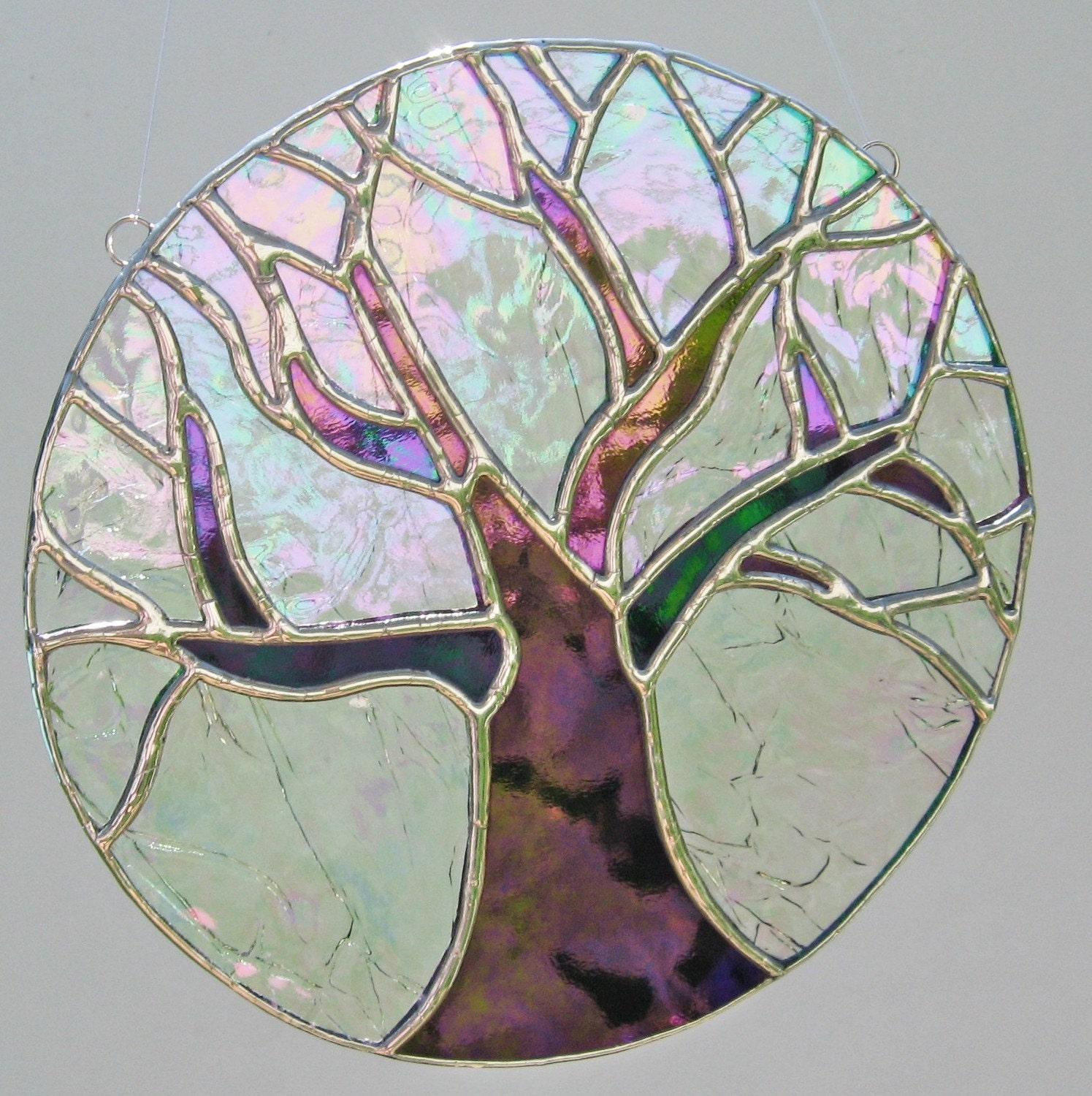 Tree Of Life Stained Glass Suncatcher