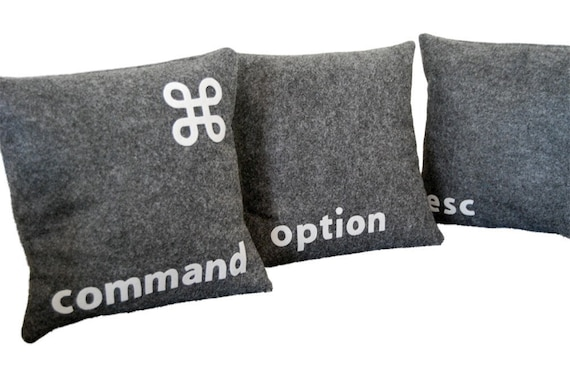 I'm a Mac-- Three Pillow Set- - Geeks Need Pillows Too