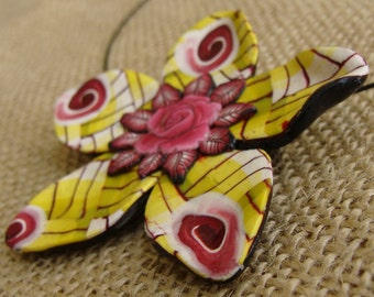 Polymer Clay Necklace or Pendant