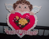 Valentine Greetings Wall Hanging