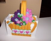 Spring Watering Can Basket