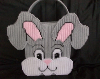 Perky Bunny Basket for Easter