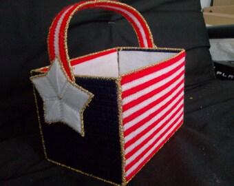 Stars and Stripes Basket