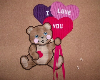Valentine's Bear Wall Hanging