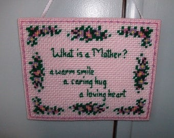 Mother's Day Wall  or Door Hanging, Mother's Day Gift