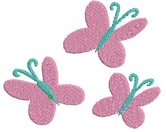 Fluttershy Cutie Mark Embroidery Design File - Pick Your Size & Format