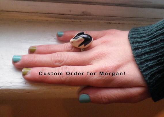 Hold for Morgan- Bunnicula Halloween Ring