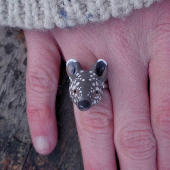 Baby Tapir Ring