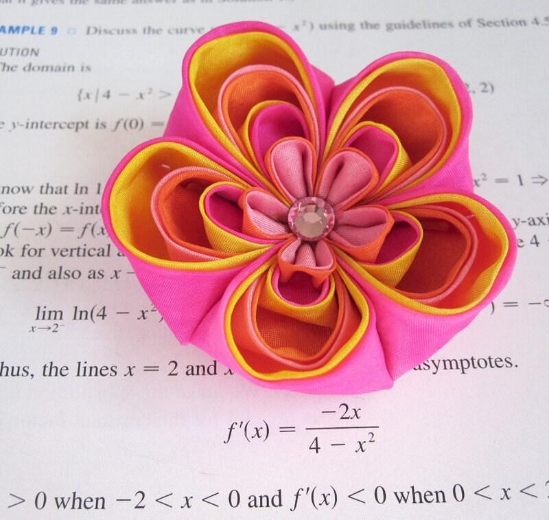 Make Tsumami Kanzashi Flowers
